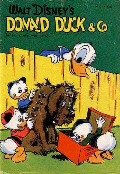 Cover for Donald Duck & Co (Hjemmet / Egmont, 1948 series) #15/1960