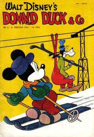 Cover for Donald Duck & Co (Hjemmet / Egmont, 1948 series) #6/1961