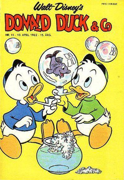 Cover for Donald Duck & Co (Hjemmet / Egmont, 1948 series) #15/1962