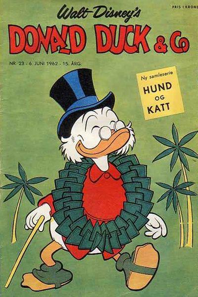 Cover for Donald Duck & Co (Hjemmet / Egmont, 1948 series) #23/1962