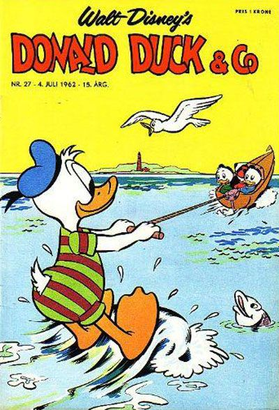Cover for Donald Duck & Co (Hjemmet / Egmont, 1948 series) #27/1962