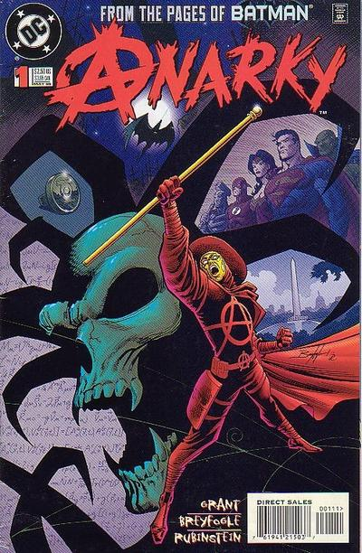 Cover for Anarky (DC, 1999 series) #1