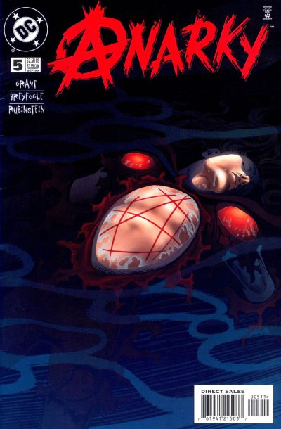 Cover for Anarky (DC, 1999 series) #5