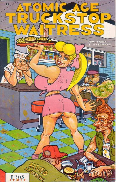 Cover for Atomic Age Truckstop Waitress (Fantagraphics, 1991 series) #1