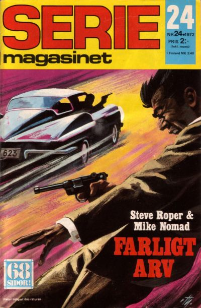 Cover for Seriemagasinet (Semic, 1970 series) #24/1972