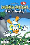 Cover Thumbnail for Donald Pocket (1968 series) #194 - Inn for landing [2. opplag bc 239 11]