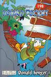 Cover for Donald Pocket (Hjemmet / Egmont, 1968 series) #198 - Donald henger i [2. opplag bc 239 11]
