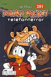 Cover for Donald Pocket (Hjemmet / Egmont, 1968 series) #201 - Telefonterror [2. opplag bc 239 12]