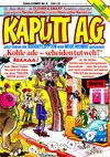 Cover for Kaputt A.G. (Condor, 1987 series) #6