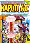 Cover for Kaputt A.G. (Condor, 1987 series) #7