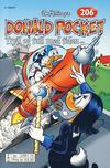 Cover for Donald Pocket (Hjemmet / Egmont, 1968 series) #206 - Tryll og tull med tiden [2. opplag bc 239 12]