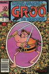 Cover for Sergio Aragonés Groo the Wanderer (Marvel, 1985 series) #12 [Canadian Newsstand Edition]