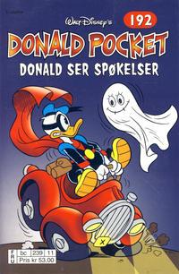 Cover Thumbnail for Donald Pocket (Hjemmet / Egmont, 1968 series) #192 - Donald ser spøkelser [2. opplag bc 239 11]