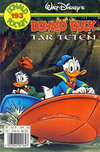 Cover Thumbnail for Donald Pocket (Hjemmet / Egmont, 1968 series) #193 - Donald Duck tar teten [1. opplag]