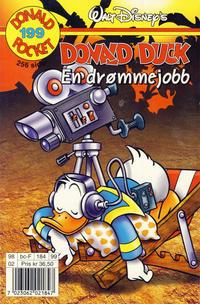 Cover Thumbnail for Donald Pocket (Hjemmet / Egmont, 1968 series) #199 - Donald Duck En drømmejobb [1. opplag]