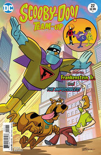 Cover Thumbnail for Scooby-Doo Team-Up (DC, 2014 series) #22 [Direct Sales]