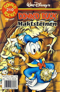 Cover Thumbnail for Donald Pocket (Hjemmet / Egmont, 1968 series) #210 - Donald Duck Maktsteinen [1. opplag]