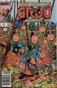 Cover for Sergio Aragonés Groo the Wanderer (Marvel, 1985 series) #8 [Direct Edition]