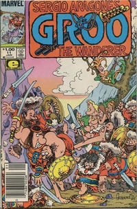 Cover for Sergio Aragonés Groo the Wanderer (Marvel, 1985 series) #11 [Direct Edition]