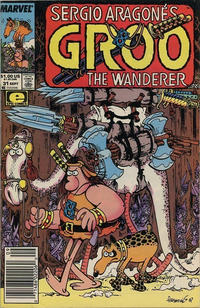 Cover for Sergio Aragonés Groo the Wanderer (Marvel, 1985 series) #31 [Direct Edition]
