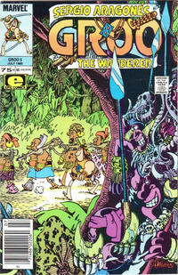 Cover for Sergio Aragonés Groo the Wanderer (Marvel, 1985 series) #5 [Direct Edition]
