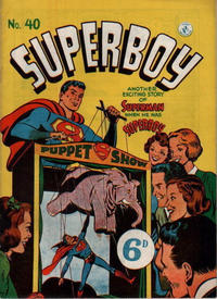 Cover Thumbnail for Superboy (K. G. Murray, 1949 series) #40 [6D]