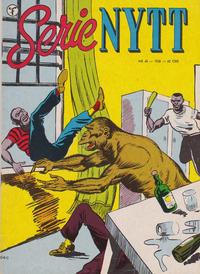 Cover Thumbnail for Serie-nytt [Serienytt] (Formatic, 1957 series) #48/1958