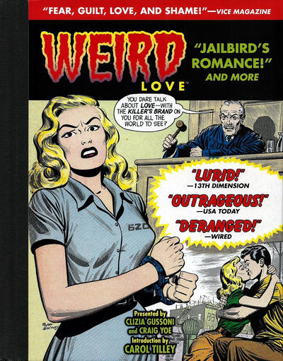 """Cover for Weird Love (IDW, 2015 series) #4 - """"Jailbird's Romance!"""" and More"""