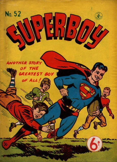 Cover for Superboy (K. G. Murray, 1949 series) #52