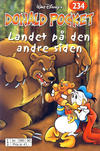 Cover Thumbnail for Donald Pocket (1968 series) #234 - Landet på den andre siden [Reutsendelse bc 390 90]