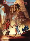 Cover for Die Legenden von Troy (Carlsen Comics [DE], 2010 series) #2 - Tykko, der Wüstensohn: Die versunkene Stadt