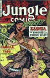 Cover for Jungle Comics (H. John Edwards, 1950 ? series) #3