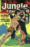 Cover for Jungle Comics (H. John Edwards, 1950 ? series) #5