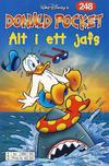 Cover Thumbnail for Donald Pocket (1968 series) #248 - Alt i et jafs [Reutsendelse bc 390 85]