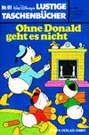 Cover for Lustiges Taschenbuch (Egmont Ehapa, 1967 series) #61 - Ohne Donald geht es nicht [5.00 DM]