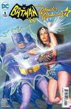 Cover for Batman '66 Meets Wonder Woman '77 (DC, 2017 series) #1 [Alex Ross Cover]