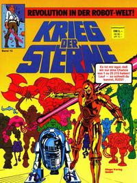 Cover Thumbnail for Krieg der Sterne (Egmont Ehapa, 1979 series) #12 - Revolution in der Robot-Welt!