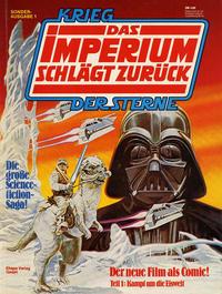 Cover Thumbnail for Krieg der Sterne Sonderausgabe (Egmont Ehapa, 1980 series) #1 - Das Imperium schlägt zurück 1 - Kampf um die Eiswelt