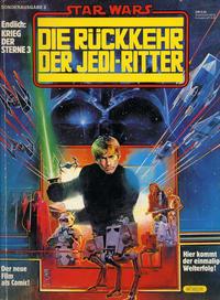 Cover Thumbnail for Krieg der Sterne Sonderausgabe (Egmont Ehapa, 1980 series) #3 - Die Rückkehr der Jedi-Ritter