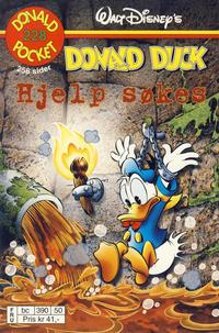 Cover Thumbnail for Donald Pocket (Hjemmet / Egmont, 1968 series) #228 - Donald Duck Hjelp søkes [Reutsendelse bc 390 50]
