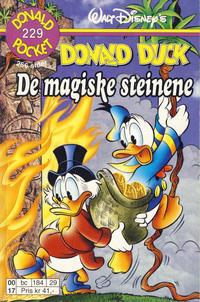Cover Thumbnail for Donald Pocket (Hjemmet / Egmont, 1968 series) #229 - Donald Duck De magiske steinene [1. opplag]