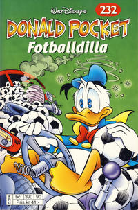 Cover Thumbnail for Donald Pocket (Hjemmet / Egmont, 1968 series) #232 - Fotballdilla [Reutsendelse bc 390 90]