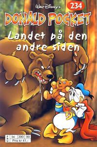 Cover Thumbnail for Donald Pocket (Hjemmet / Egmont, 1968 series) #234 - Landet på den andre siden [Reutsendelse bc 390 90]
