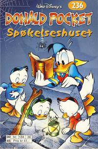 Cover Thumbnail for Donald Pocket (Hjemmet / Egmont, 1968 series) #236 - Spøkelseshuset [1. opplag]