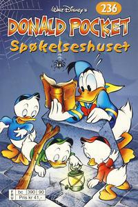 Cover Thumbnail for Donald Pocket (Hjemmet / Egmont, 1968 series) #236 - Spøkelseshuset [Reutsendelse bc 390 90]