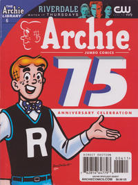 Cover Thumbnail for Archie Spotlight Digest: Archie 75th Anniversary Digest (Archie, 2016 series) #6