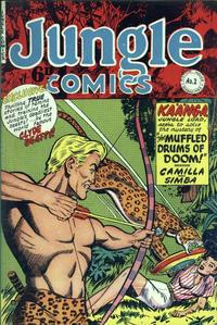 Cover Thumbnail for Jungle Comics (H. John Edwards, 1950 ? series) #2