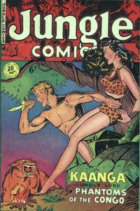 Cover Thumbnail for Jungle Comics (H. John Edwards, 1950 ? series) #9