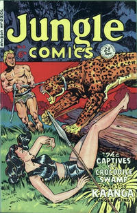 Cover Thumbnail for Jungle Comics (H. John Edwards, 1950 ? series) #8