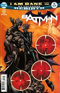 Cover Thumbnail for Batman (DC, 2016 series) #16 [David Finch Cover Variant]
